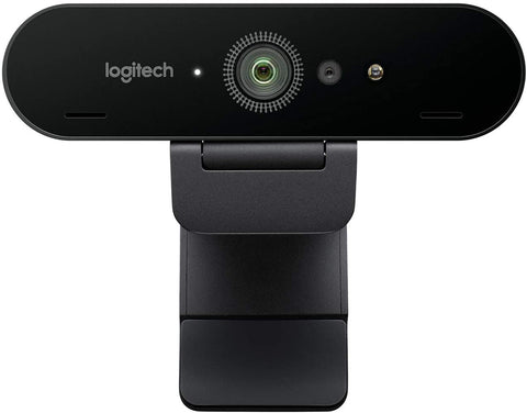 Logitech BRIO 4K Ultra HD webcam - Web camera - 4096 x 2160 - audio - USB-C