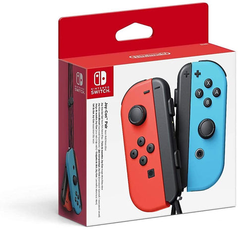 Nintendo Switch Joy-Con Controller Pair - Neon Red/Neon Blue