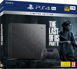 The Last of Us Part II Limited Edition PS4 Pro & 1 DualShock 4 Wireless Controller Bundle (PS4)