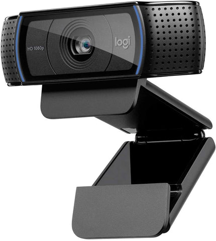 Logitech C920 HD Pro Webcam, Full HD 1080p/30fps