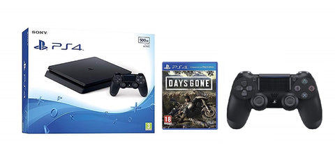 PLAYSTATION 4 500GB WITH + DAYS GONE
