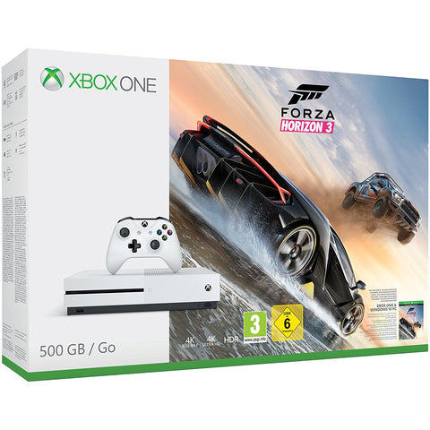 Xbox One S 500GB Console - Forza Horizon 3 Bundle (Xbox One)