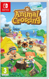 NINTENDO SWITCH - GREY + ANIMAL CROSSING: NEW HORIZONS + MARIO AND RABBIDS KINGDOM BATTLE (CODE IN BOX)