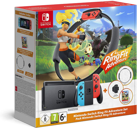 Nintendo Switch Console HW Ring Fit Adventure Edition