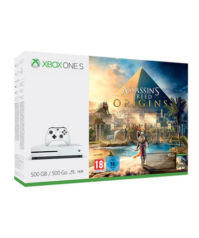 Xbox One S 500 GB With Assassin's Creed: Origins Bundle