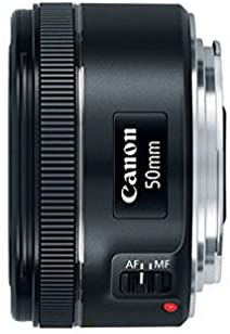 Canon EF 50mm f/1.8 STM Lenses