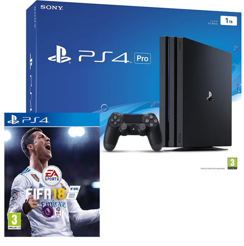 Sony PlayStation 4 1TB Pro with FIFA 18 (PS4)