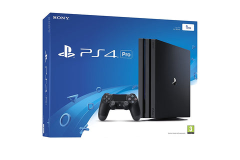 Sony PlayStation 4 Pro 1TB - Black