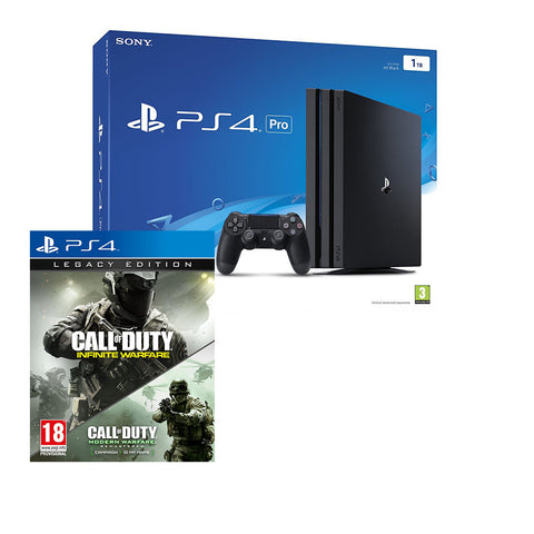 Sony PlayStation 4 1TB Pro with Call of Duty: Infinite Warfare Legacy Edition (PS4)
