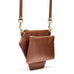 POLYGONIC Burnt Sienna Cross-body / Clutch / Belt-Bag