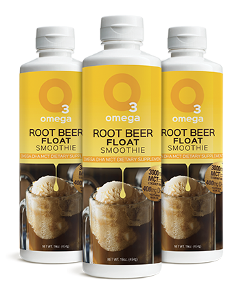 Omega 3 Smoothie - 3 Pack - 5 Reasons LP