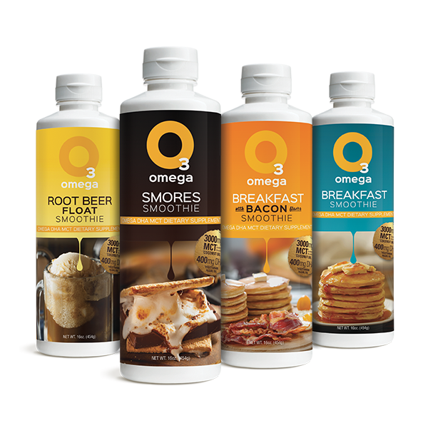 Omega 3 Smoothie - 4 Pack
