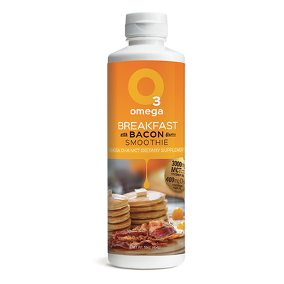Omega 3 Breakfast with Bacon Smoothie