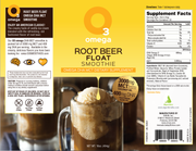 Omega 3 Root Beer Float Smoothie