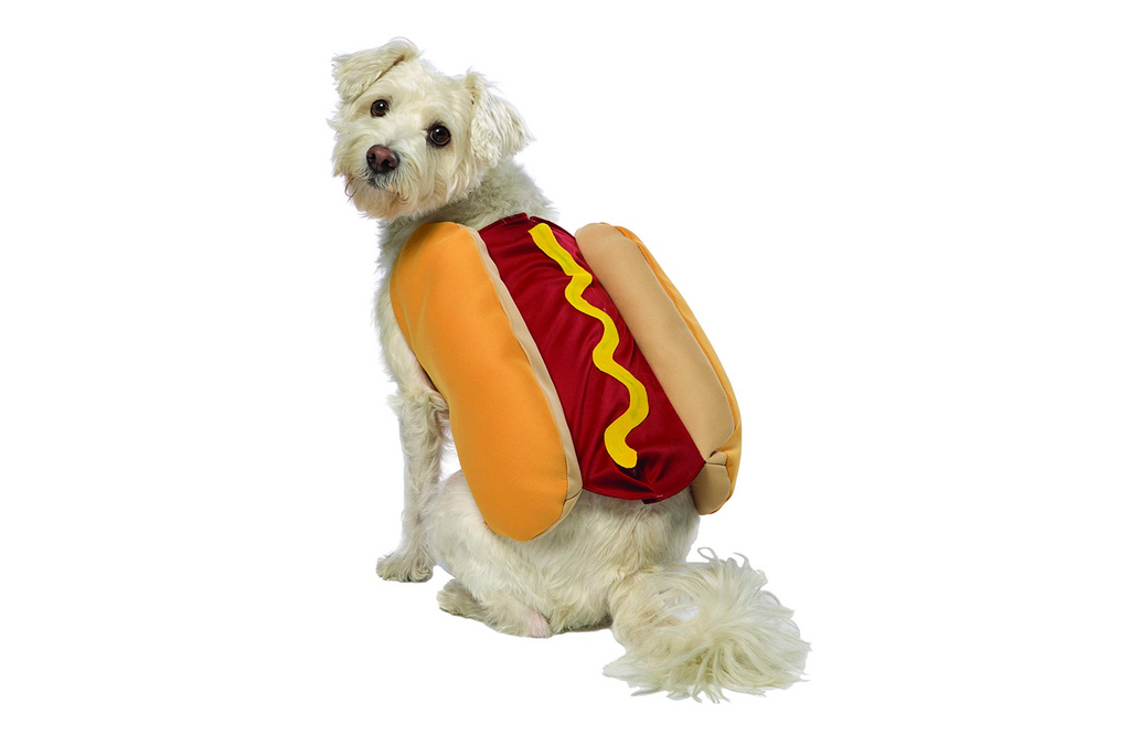 dog costume hot dog