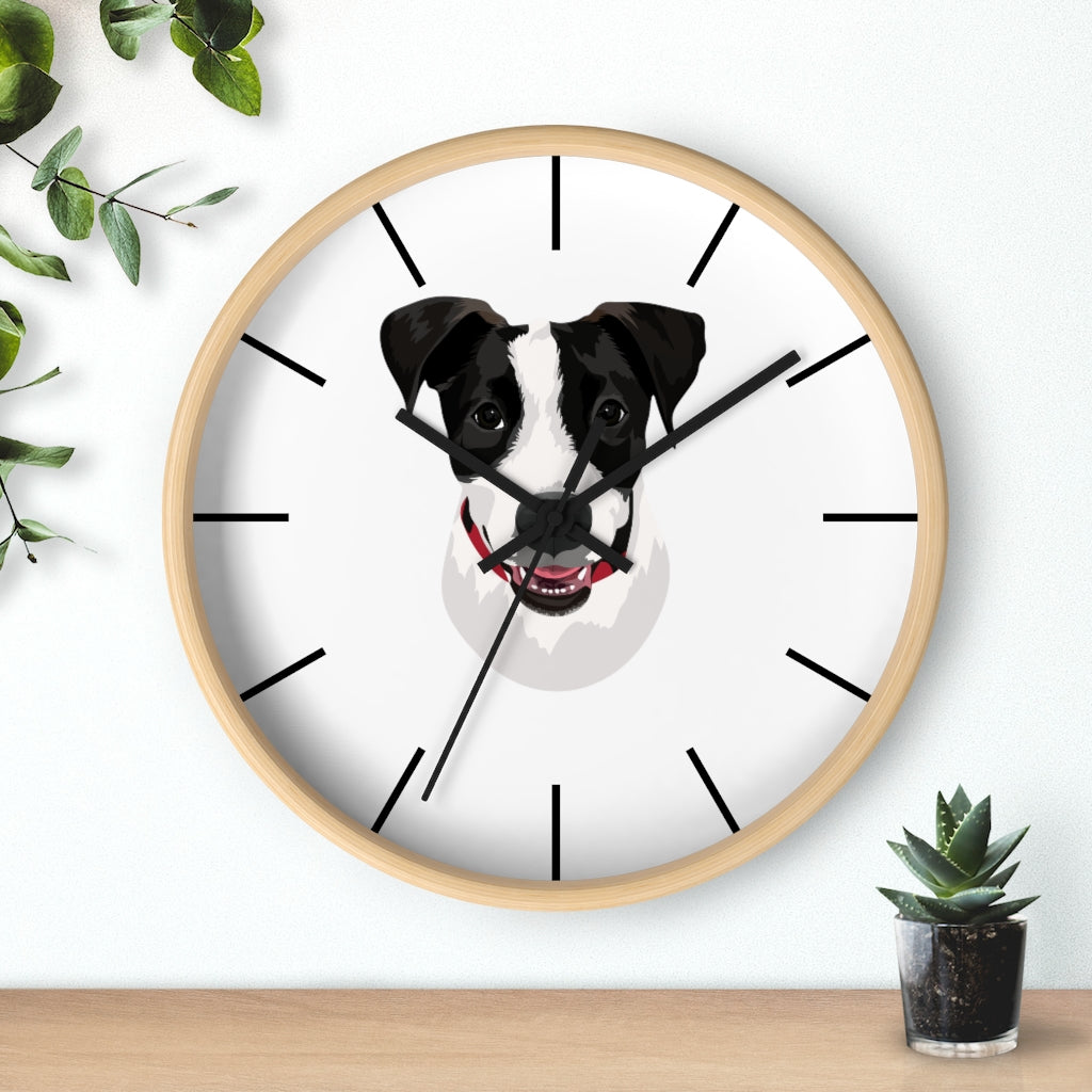 Custom Dog Clock