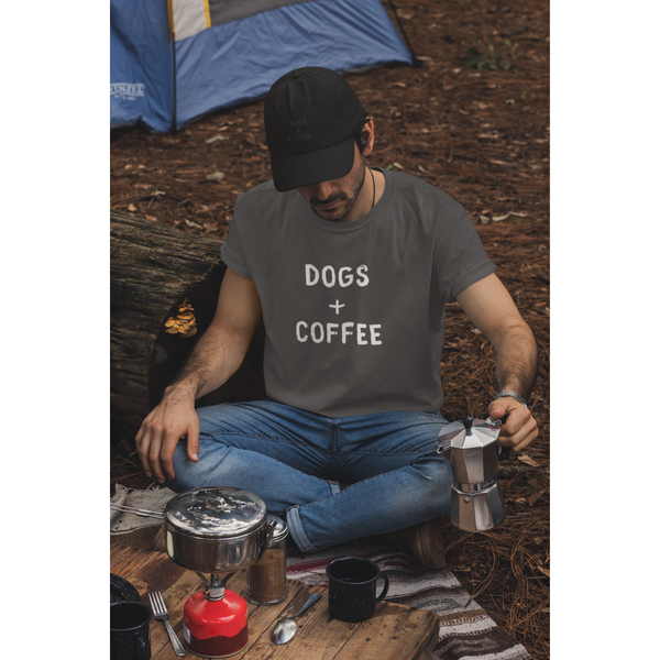 Men's Dogs + Coffee T-Shirt
