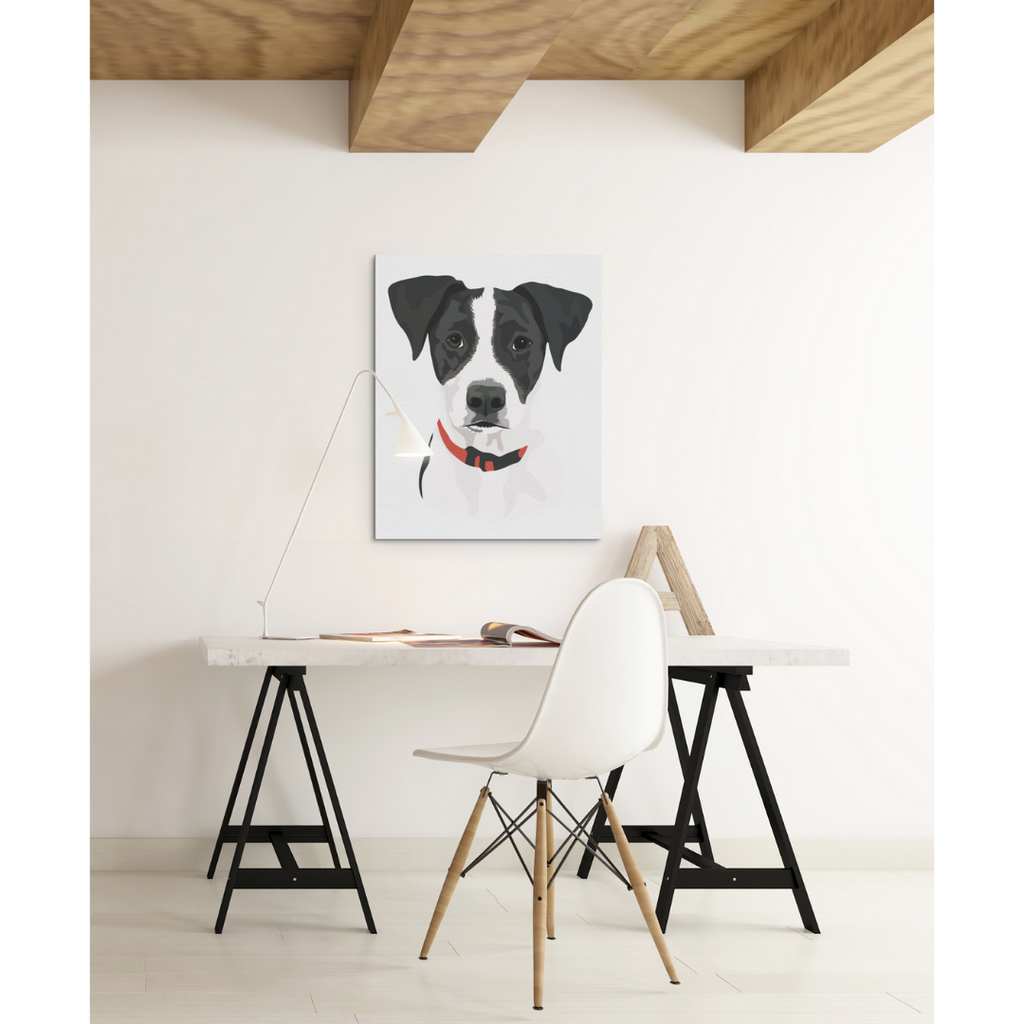 Custom Dog Canvas