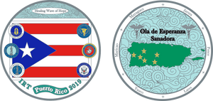 Puerto Rico Mission Coin 2019