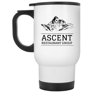 ARG White Travel Mug