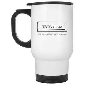 Tapa White Travel Mug