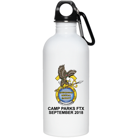 001H AUTHORIZED AT EXERCISE - 20 oz Stainless Steel Water Bottle