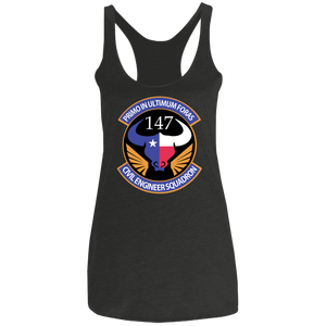 NL6733 Ladies' Triblend Racerback Tank