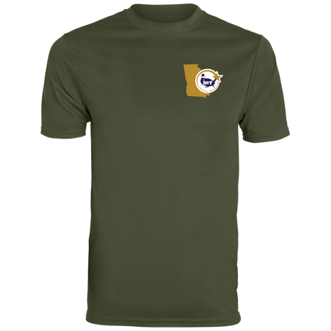 Military Green Wicking T-Shirt