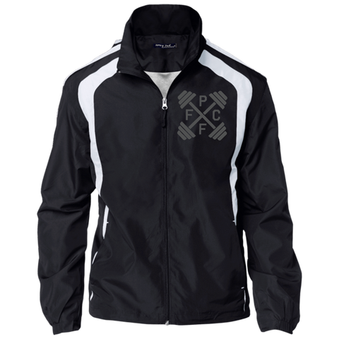 Embroidered Sport-Tek Jersey-Lined Jacket