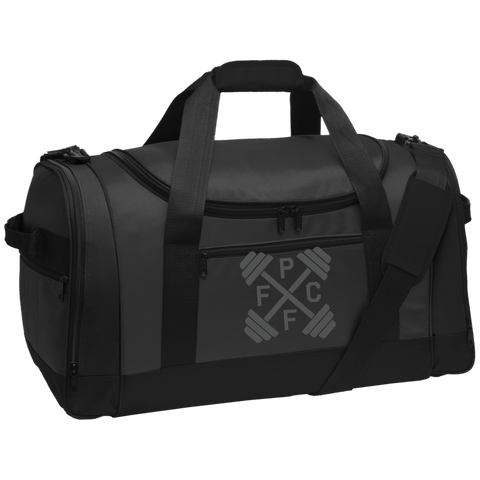 Embroidered Port Authority Travel Sports Duffel