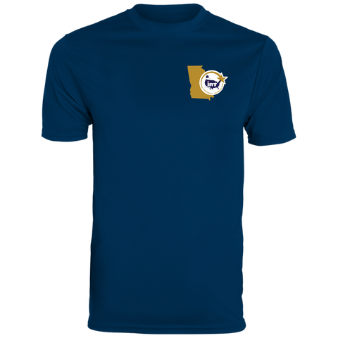 Navy Blue Men's Wicking T-Shirt