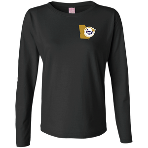 Ladies' LS Cotton T-Shirt