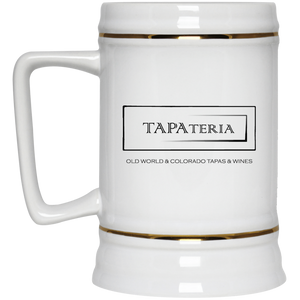 Tapa Beer Stein 22oz.