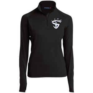 Women's Embroidered 1/2 Zip Performance Pullover