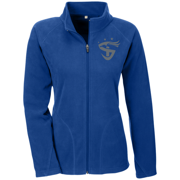 Ladies' Embroidered Microfleece