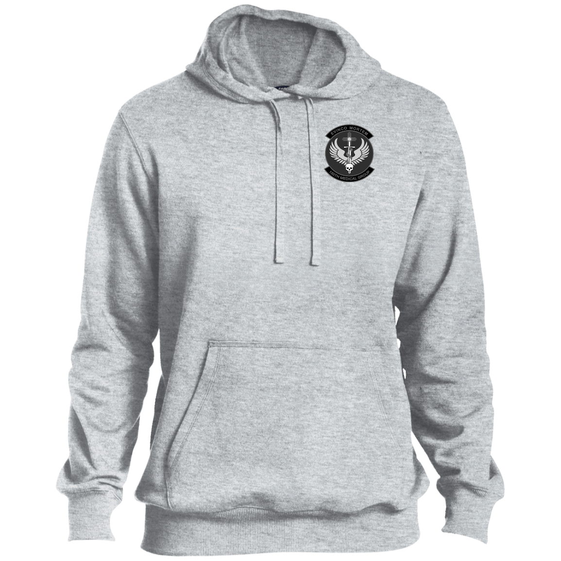 black and white logo Pullover Hoodie
