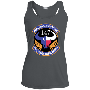LST356 Ladies' Racerback Moisture Wicking Tank