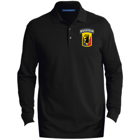 Men's EZCotton™ LS Polo