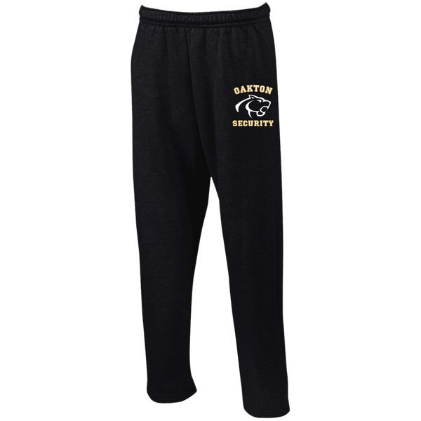 Gildan Open Bottom Sweatpants with Pockets