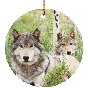 Ceramic Circle Ornament, Kekoa+Tala