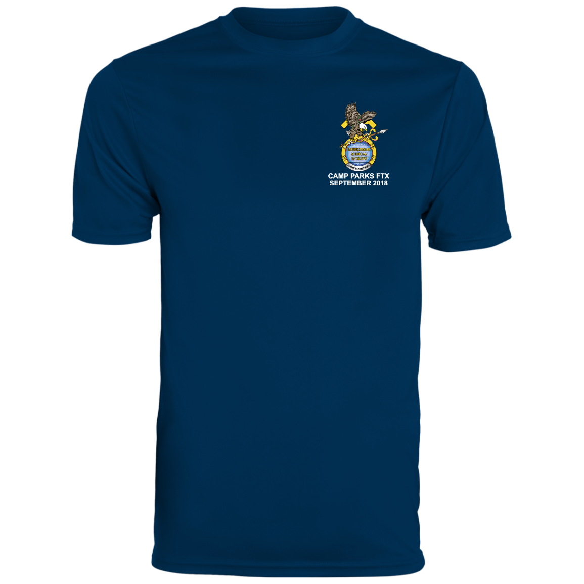 001A AUTHORIZED WITH NWU TYPE 1 UNIFORMS - Unisex T-Shirt - Front Logo Only