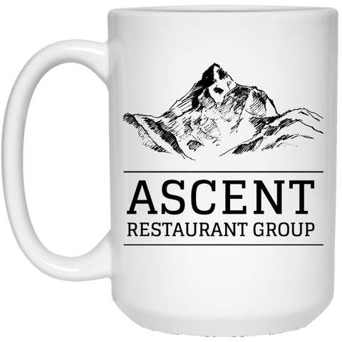 ARG 15 oz. White Mug