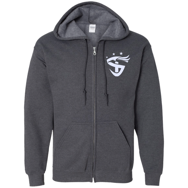 Gildan Zip Up Hooded Sweatshirt
