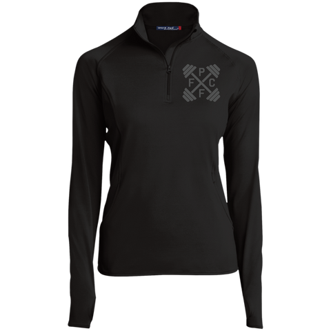 Embroidered Sport-Tek Women's 1/2 Zip Performance Pullover