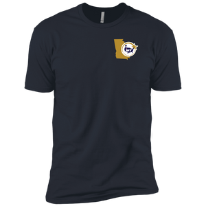 Navy Blue Premium Short Sleeve T-Shirt