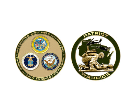 Patriot Warrior Coin