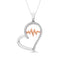 Sterling Silver 1/5 CT.TW. Glittering Beats Diamond Fashion Pendant