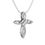 Cross Diamond and Silver Pendant Gift