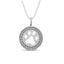 Diamond 1/10 CT TW Fashion Pendant in Sterling Silver