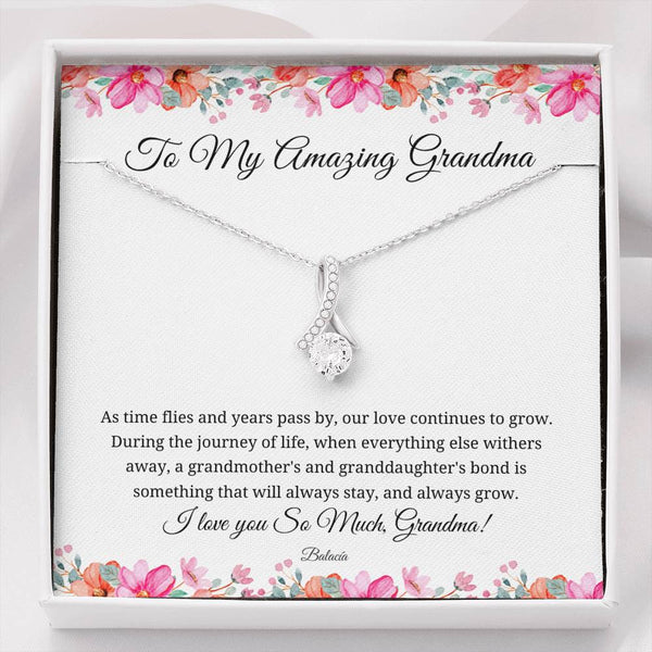 Grandma Jewelry Gift Set